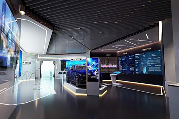 湖南展厅设计制作公司对色彩的处理原则