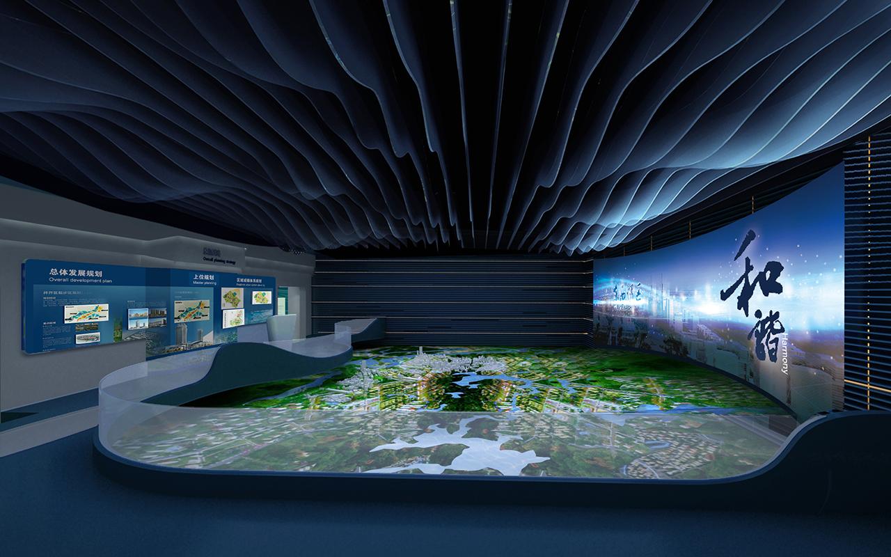 展厅设计公司对展厅中各事物的组合