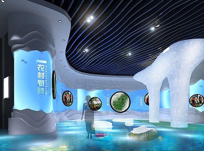 优秀的展厅设计应具有吸引力