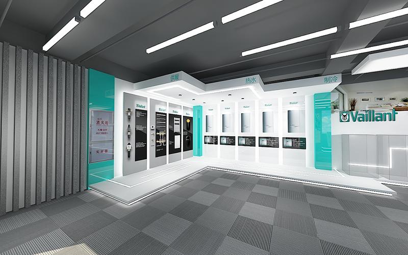 展厅设计公司这样为展厅赋予艺术气息