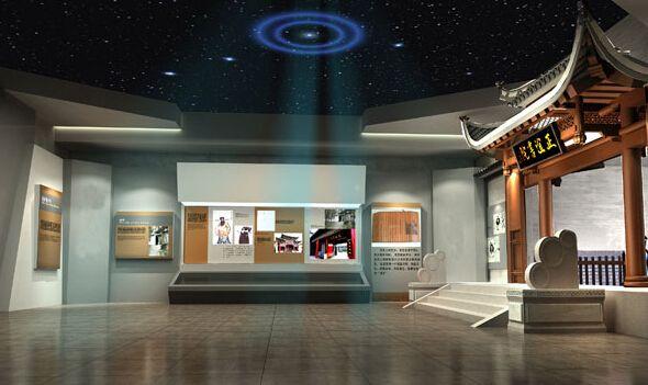 中式风格展厅设计应该用哪些元素搭配