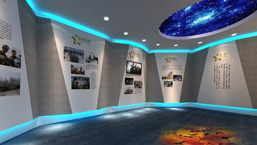 展厅设计的设施服务与灯光打法