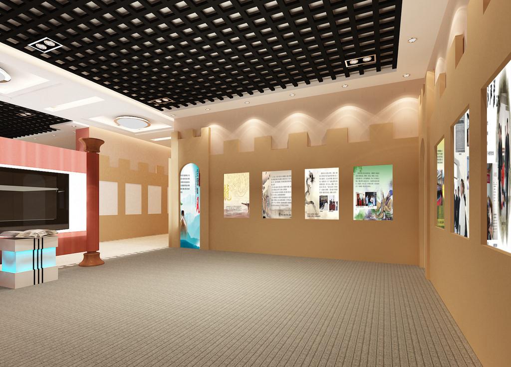 展厅设计后的绿化工作