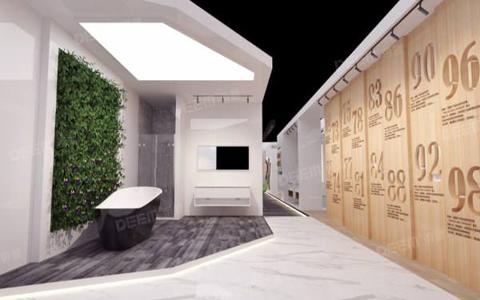 600平米展厅设计布局以及设计风格